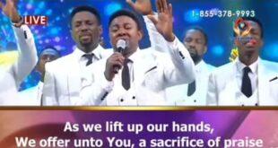 We Minister Unto You By Israel Osho &Amp; Loveworld Singers [Lyrics &Amp; Mp3]