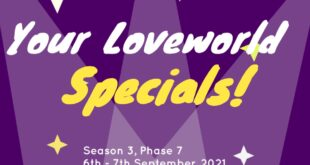 Your Loveworld Specials Season 3, Phase 7, Day 1