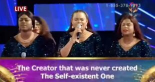 The Creator That Was Never Created By Sophiya &Amp; Loveworld Singers [Lyrics &Amp; Mp3]